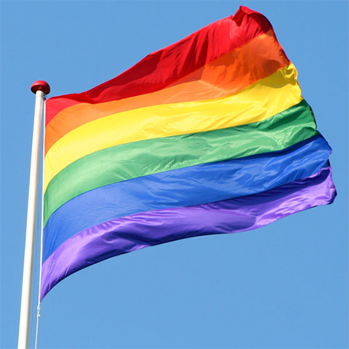 Amostra Qualigifts- bandeira do orgulho LGBT Free-lgbt-pride-flag-sample